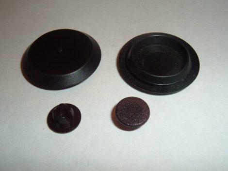 Front Door Vent Adjustment Hole Plug Kit 1968-70 B Body 6 pc.