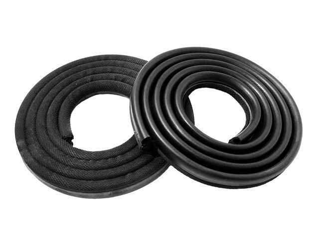 DOOR SEALS 1963-66 A Body 2 Dr. & 4 Dr. Sedans and S/W [ Black Colored ]