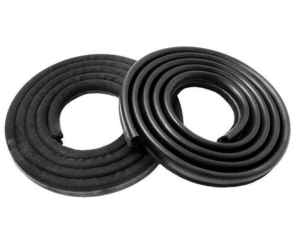 DOOR SEALS 1963-66 A Body 2 Dr. HT & Conv. [ Black Colored ]