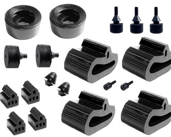 Snap In Bumper Kit 2333-D  A Body 1972-74 [ DELUXE kit includes new stud ]