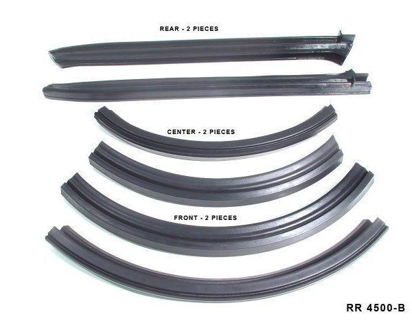 Convertible Roof Rail Seals [ 6 pc. ] 1963-66 A Body