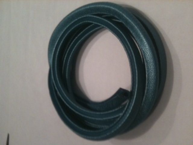 Quarter Window plastic Push on Trim 1962-66 A & B Body [Blue/Aqua ]