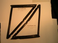 Vent Window Seal 1964-65 B Body 2 dr.H.T. & Conv