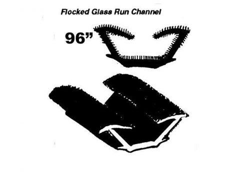 Tail Gate InnerGlass Run channel  1963-66 A Body S/W