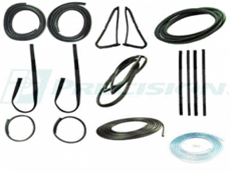 Deluxe Truck Weatherstripping Kit Dodge 13 pc. 1980-86 PU